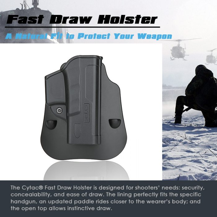 Fast Draw Holster for Glock Airsoft Gun | Cytac®